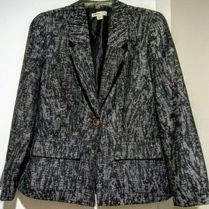 Coldwater Creek Black/Gray Blazer
